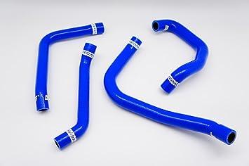 Silicone Turbo Intercooler Hose For Subaru Impreza WRX//STi GDA//GDB VER7-9 02-07