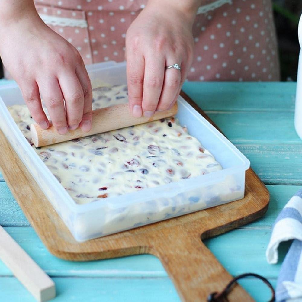 Nougat Tray Mold Set Cutting Rolling Pin Nougat Maker Kitchen Baking Gadget SH