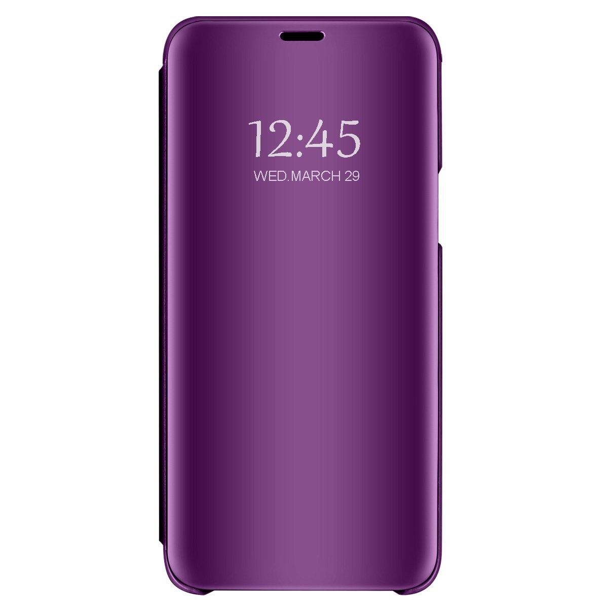 Case for Galaxy Note 8 Translucent Mirror Screen Cover Flip Stand Hard Plating Shell for Galaxy Note 8 (5, Galaxy Note 8)