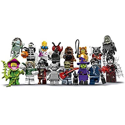 LEGO Monsters Series 14 Minifigures - Complete Set of 16 Minifigures (71010) Halloween: Toys & Games