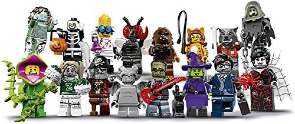 Halloween Horror Scary 5 Minifigures Custom Set USA SELLER
