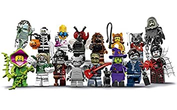 amazoncom lego monsters series 14 minifigures complete set of 16 minifigures 71010 halloween toys games - Lego Monstre