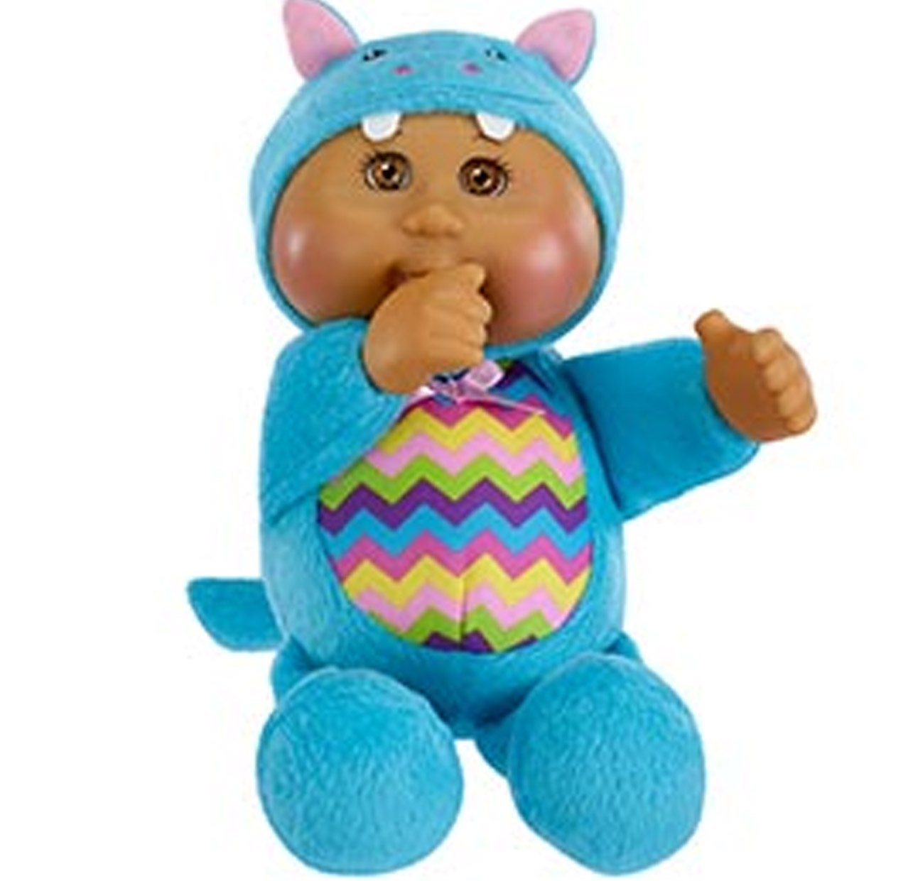 amazon com cabbage patch kids cuties doll blue hippo toys u0026 games