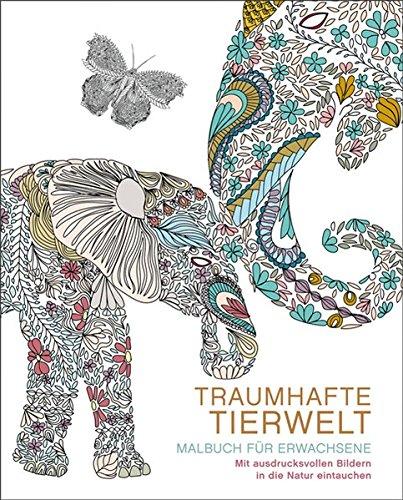 Malbuch für Erwachsene: Traumhafte Tierwelt: Mit ausdrucksvollen Bildern in die Natur eintauchen