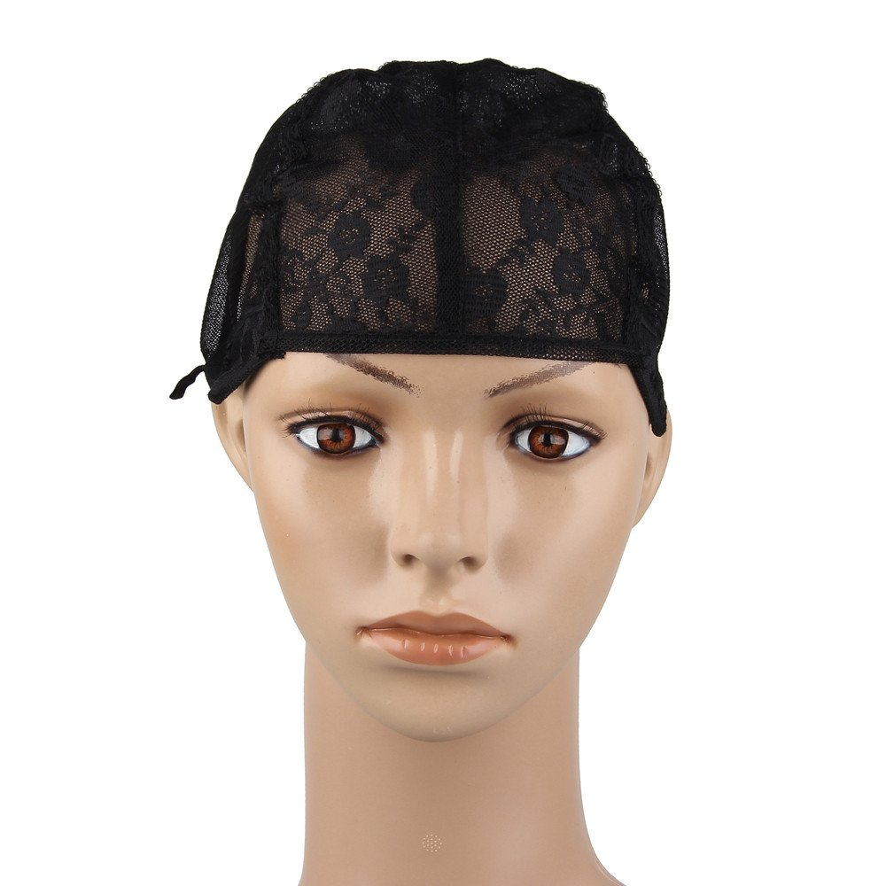 Beauty7 Lace Full Wig Cap With Adjustable Straps For DIY Wig Weaving Sewing Hair Weft Lace Closure