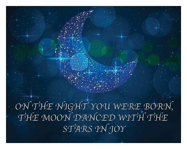 Amazon Com On The Night You Were Born Print 11x14 Unframed Art