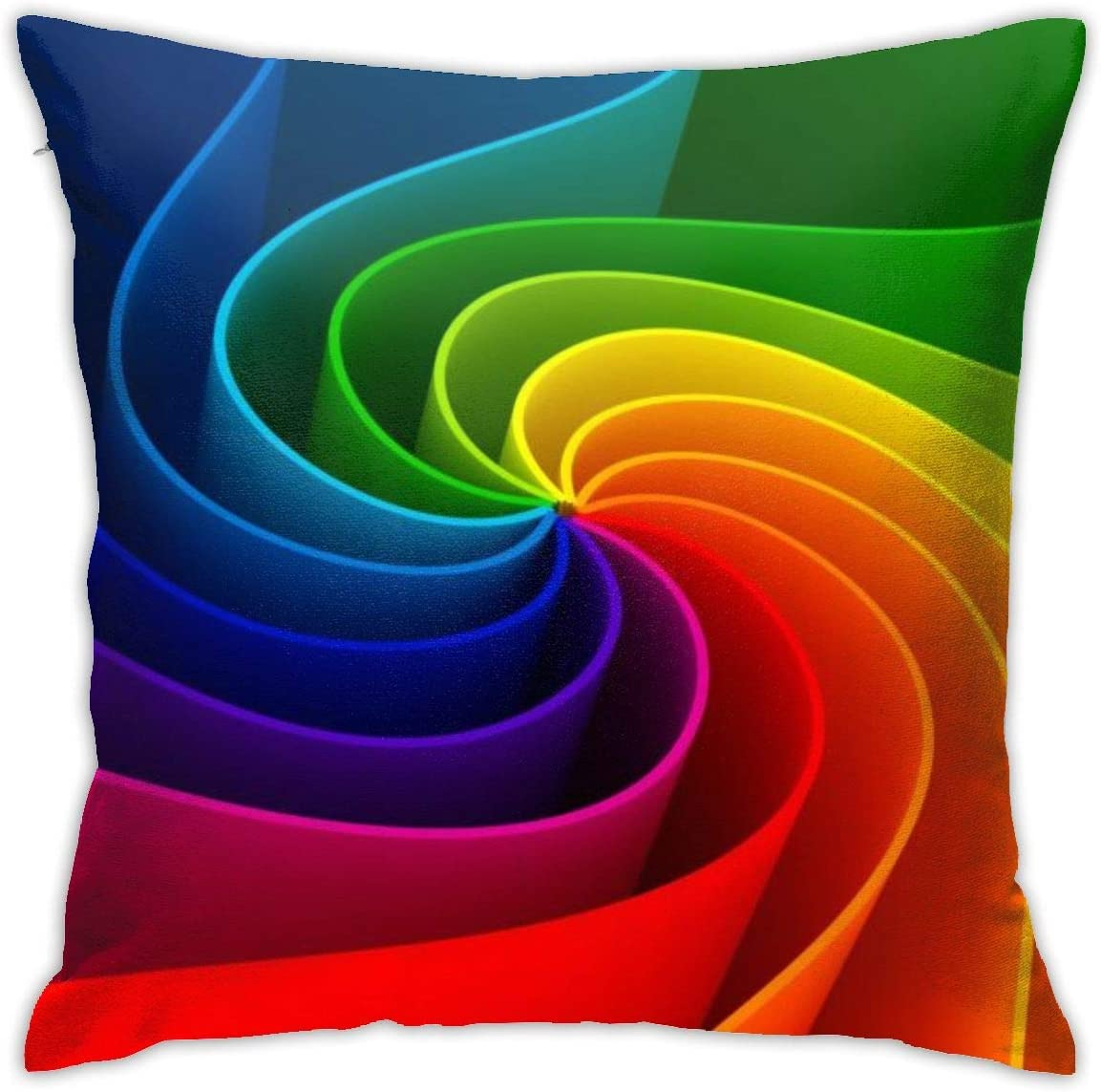 F.G. MINGSHA Throw Pillow Cover Cool Visual Effects Pillow Cases for Home Decor Design Set Cushion Case for Sofa Bedroom Car Standard Size 18 x 18 Inch