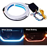 Tail Light, JAYEJA 5 Function Car Trunk Brake Turn Light Lamp 5050 Led Running Signal Light Car Warning Light