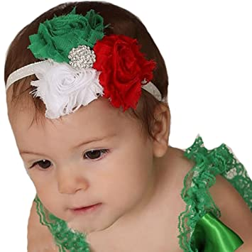 Christmas Headbands For Babies.Miugle Baby Girls Christmas Headbands With Bows