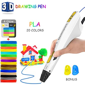 Amazon.com: Bolígrafo 3D GeekSpark, bolígrafo de impresión ...
