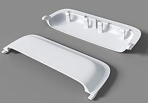 Door Handle Compatible with Whirlpool Dryer W10861225, W10714516,W10861225 Dryer Handle Compatible with Kenmore, Amana, Maytag AP5999398 PS11731583 (Unbreakable) (White)