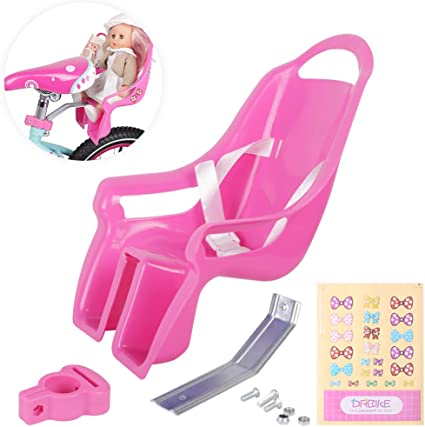 Girls Bicycle Back Safety Toy Seat For Doll Child Toys Children Bike Saddle Rack