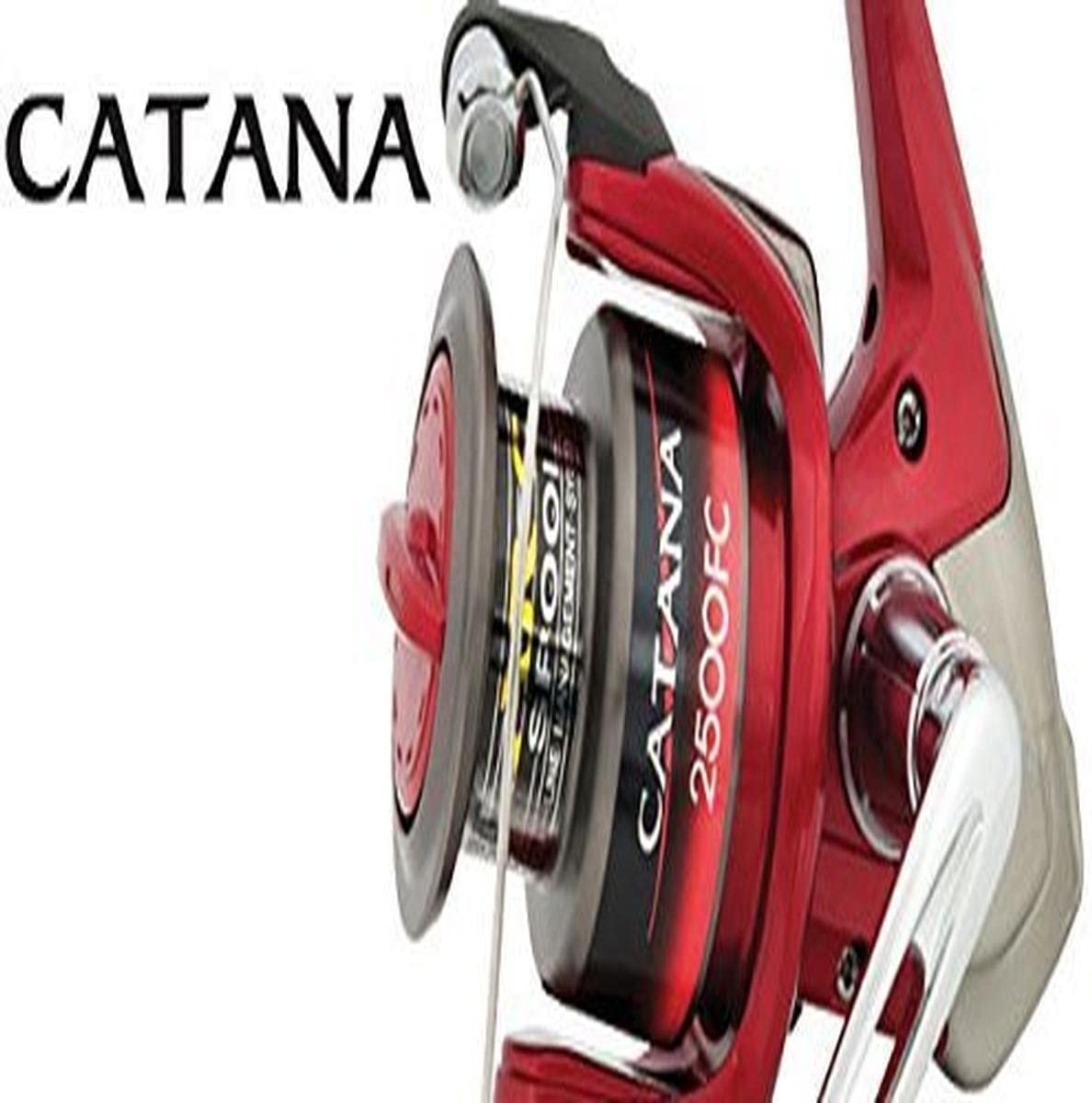 SHIMANO Catana 1000 FC Spinning Reel with frontdrag by: Amazon.es ...