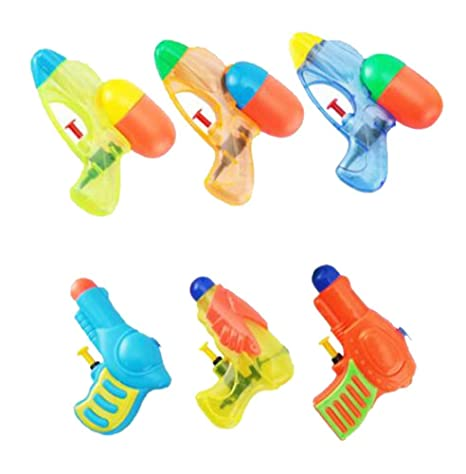 Amazon Com Small 6pcs Squirt Water Toy For Pool Parties Barbecue