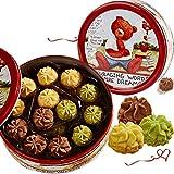 China food co. LTD. 网红珍妮小花小熊曲奇饼干230g铁盒礼盒装送女友零食小吃礼包