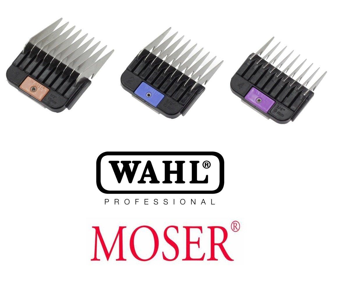Samsebaer Edition: 3x Métal/Acier Inoxydable Sew-Select mmset pour tondeuse Oster Golden A5, A6Comfort, capillaire. 64771