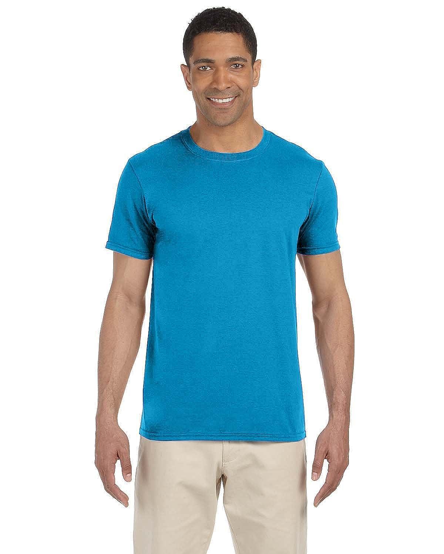 (ギルダン) Gildan メンズ ソフトスタイル 半袖Tシャツ トップス カットソー 男性用 B06XXTWQ3B M|メトロブルー メトロブルー M