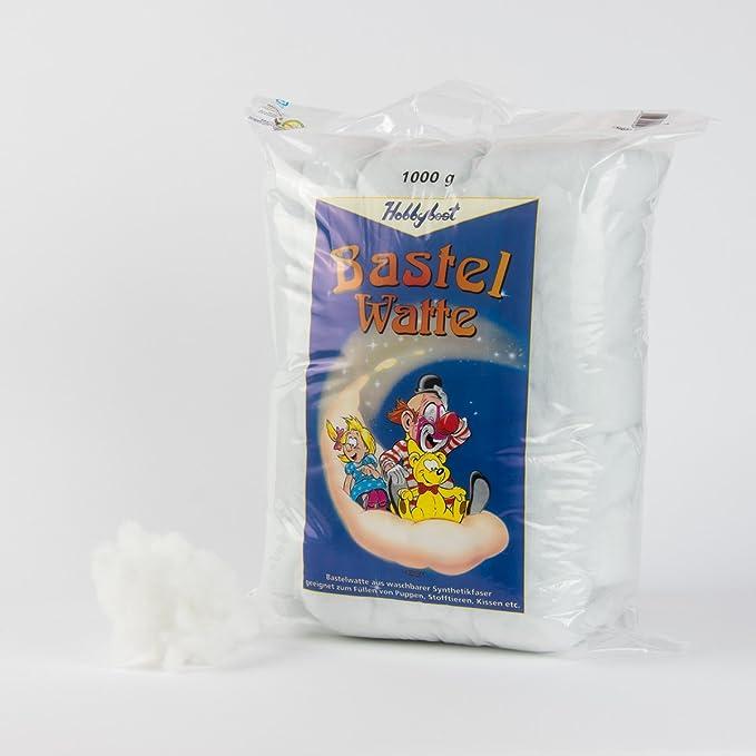 Füllstoff Füllmaterial Bastelwatte 1kg