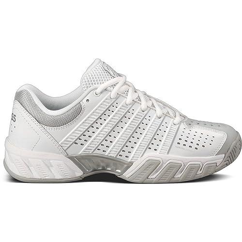 detailed look 3f158 f60d6 K-Swiss Bigshot Light 2.5 Womens Sneakers White Glacier Gray Silver 7
