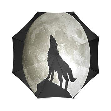 zlfのlove personalizado lobo plegable paraguas