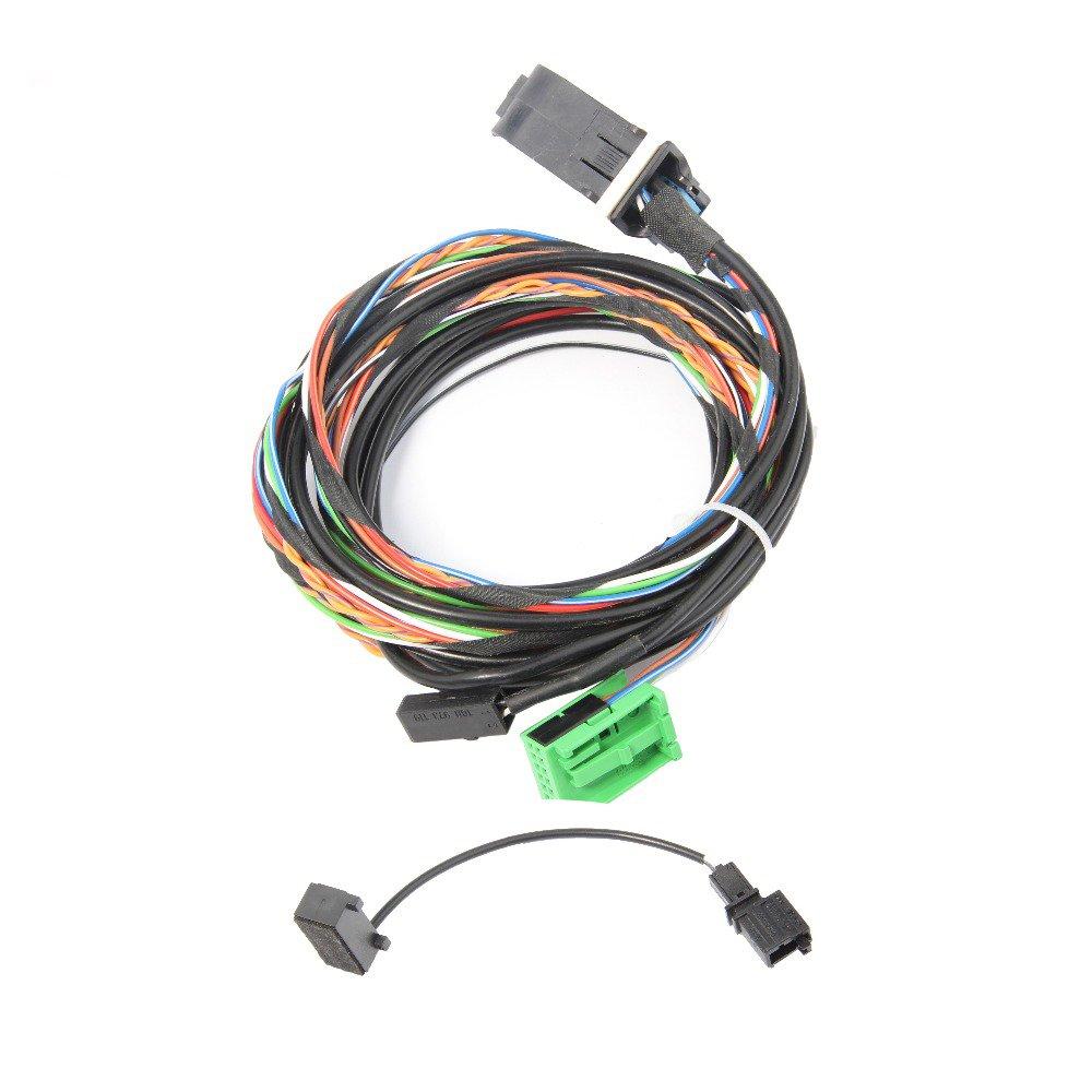 Amazon.com: Amzparts 9W2 9W7 Bluetooth Wiring Harness Cable For VW Golf  Jetta Passat RCD510 RNS510 1K8 035 730 D 1K8 035 730 C: Car Electronics