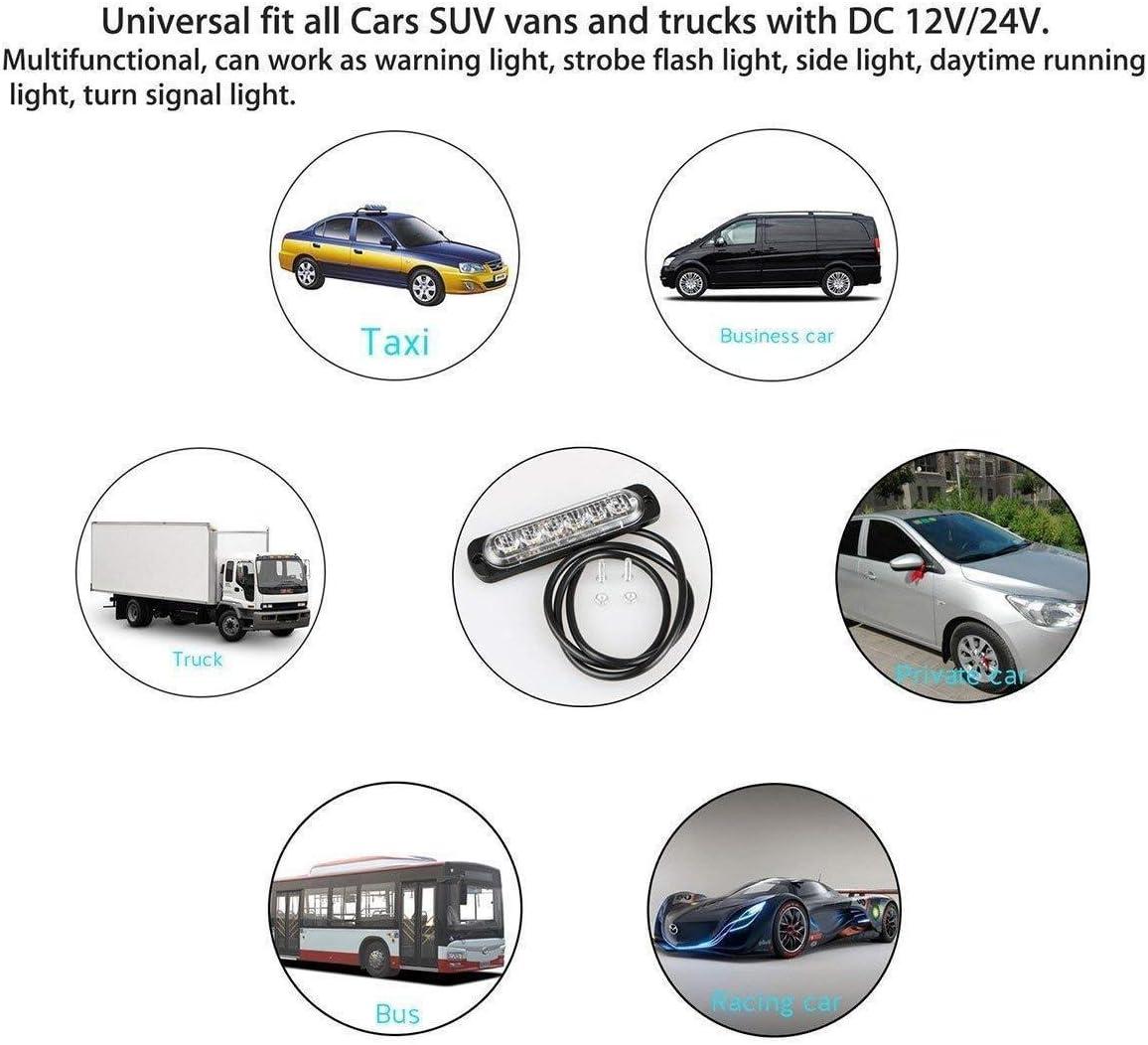 Automobile 7 Core Câble 12 V 24 V Fil Caravane Remorque Ampoule DEL Lights