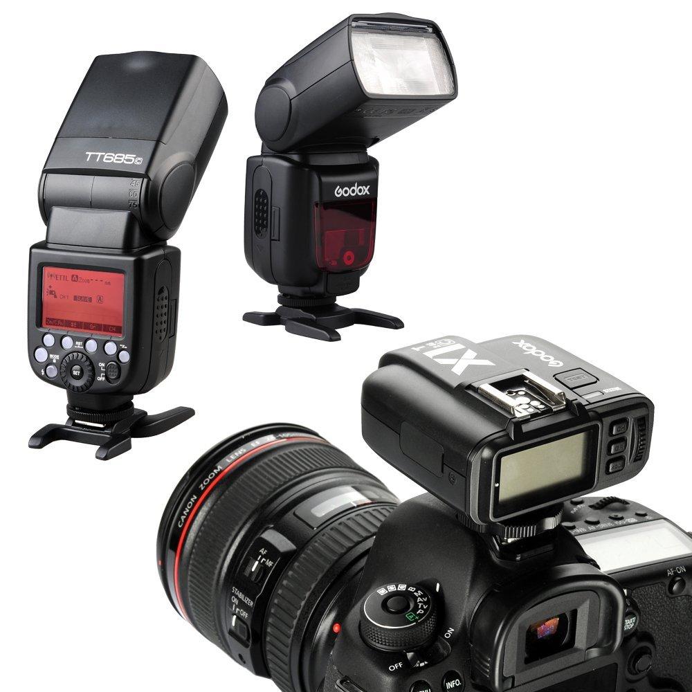 Godox X1T-C 2.4G E-TTL Wireless LCD Flash Transmitter for Canon Camera (X1T-C) by Godox (Image #4)