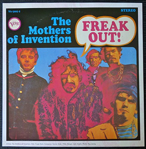 Frank Zappa and The Mothers of Invention - Freak Out Vintage Album Cover Poster