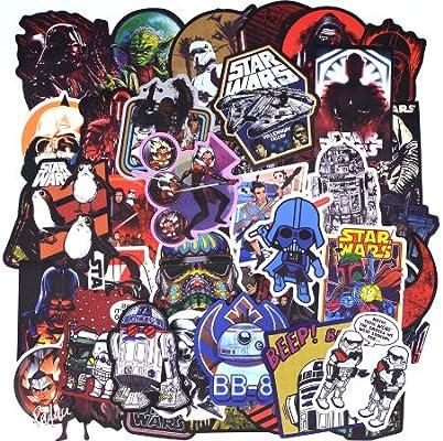 No 50Pcs / Pack Stickers para El Equipaje Laptop Decal Skateboard ...
