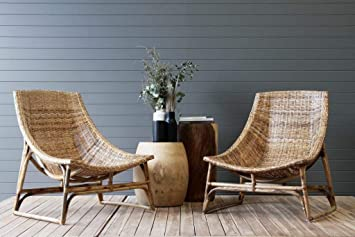 IRA Handweaved Vintage Chair - Natural