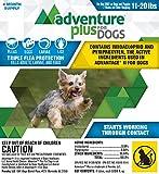 Dog Flea Treatment Collar - Adventure Plus for Dogs 4pk 11-20lb