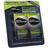 Nueva sólo para hombres controlgx gris pelo reducción champú para cualquier tono 2x 147ml