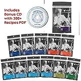Modernist Cuisine Experimentation Kit ⊘ Non-GMO ❤ Gluten-Free ☮ Vegan ✡ OU Kosher Certified (Molecular Gastronomy) [12 Popular Ingredients + 300 Bonus Recipes CD]