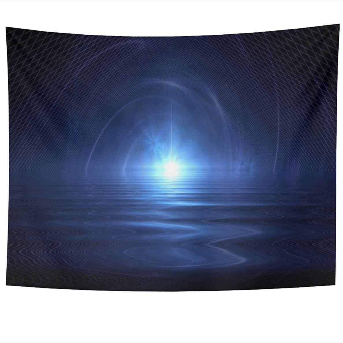 Prime Amazon Com Ahawoso Tapestry 80 X 60 Inches Cold Blue Download Free Architecture Designs Scobabritishbridgeorg