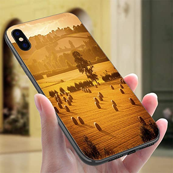 Amazon com: Creative iPhone Case for iPhone XR Golden Hour