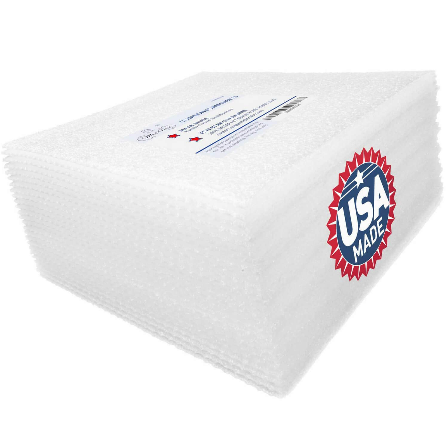 Mrs Fizz Packing Foam Sheets - Moving Supplies