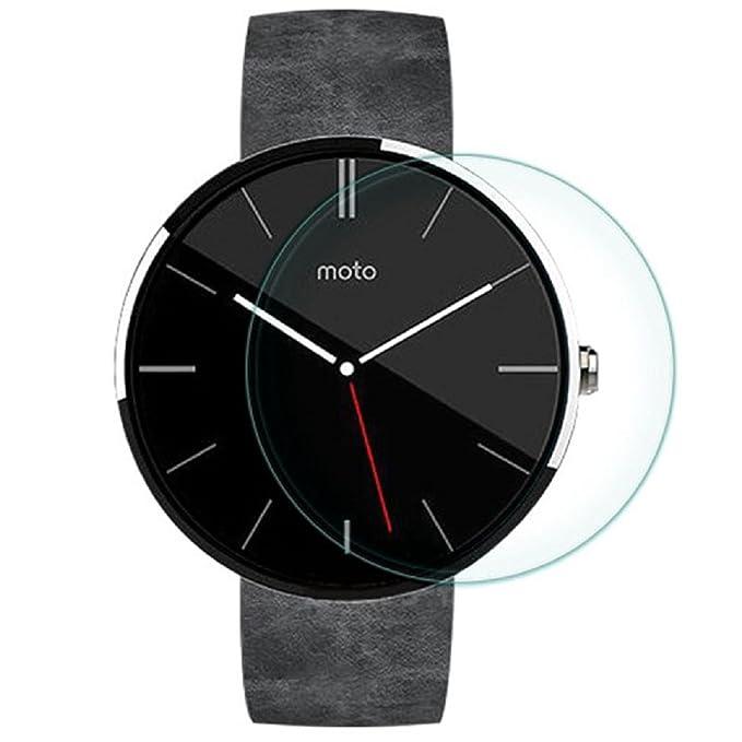 DDLBiz® Smart Watch Motorola Moto 360 Protector de Cristal ...