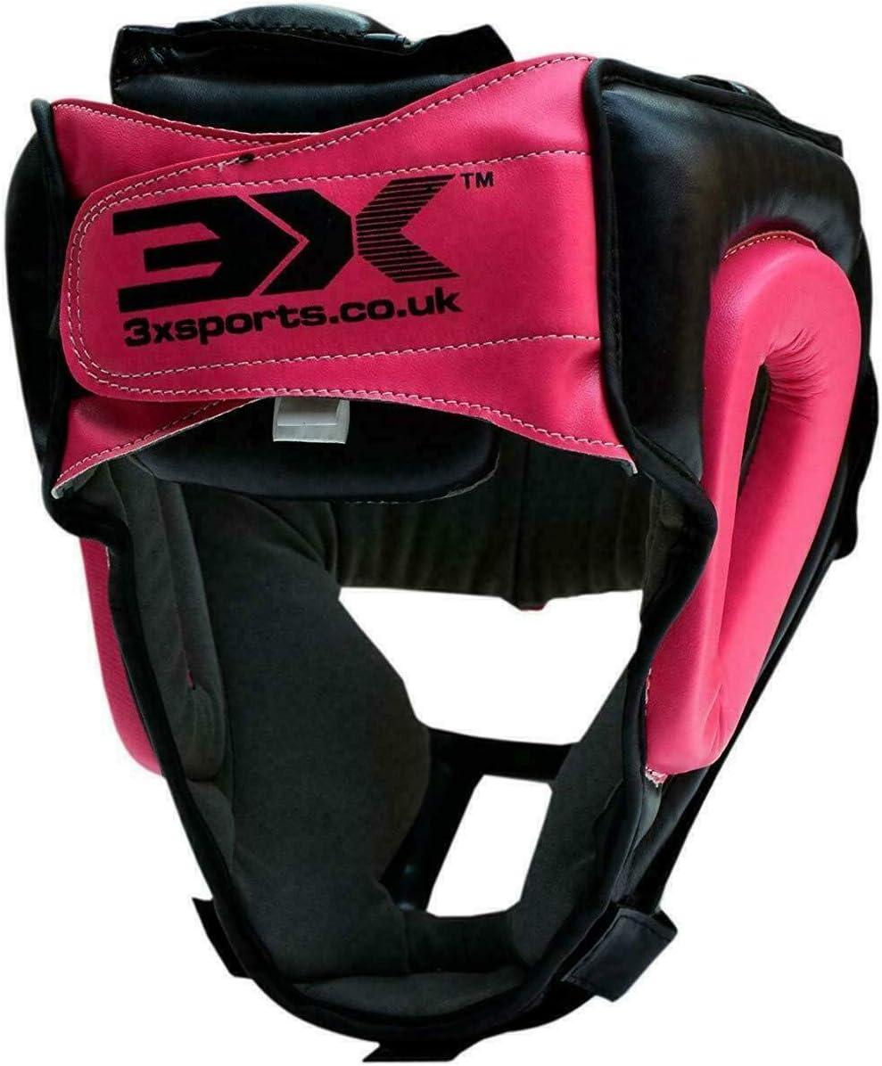 Multi Couleurs//Tailles 3X Professional Choice Casque De Boxe MMA Grille Protection Garde de T/ête Muay Thai Kickboxing Arts Martiaux Krav Maga Entra/înement