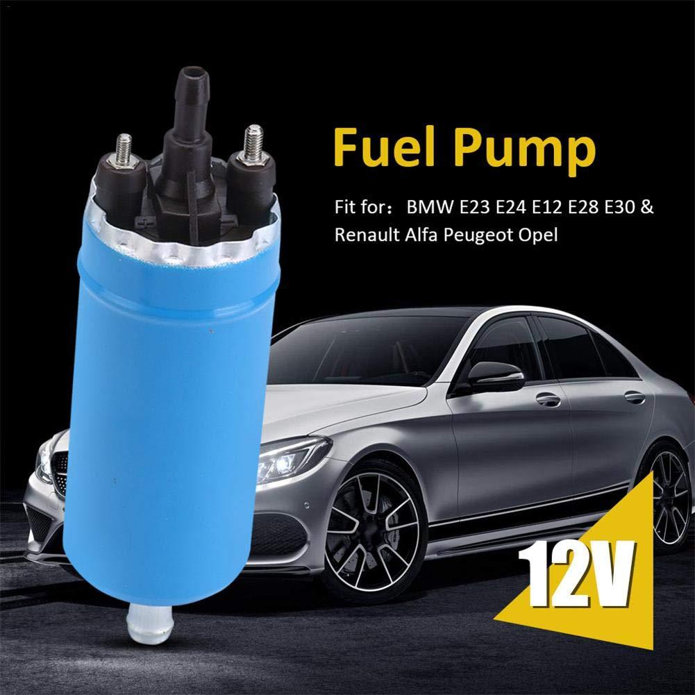 Bomba El/éCtrica de Combustible Bombas de Combustible para Coche Nuevo Kit de Bomba de Combustible el/éctrica de Alta presi/ón Universal para Renault BMW Alfa Peugeot Opel