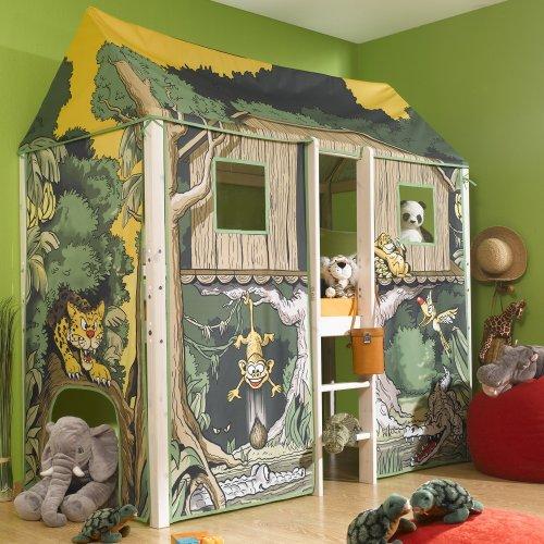 Kinderbett dschungel  Thuka Flexa 4 Dreams Hochbett / Kinderbett / Spielbett ...