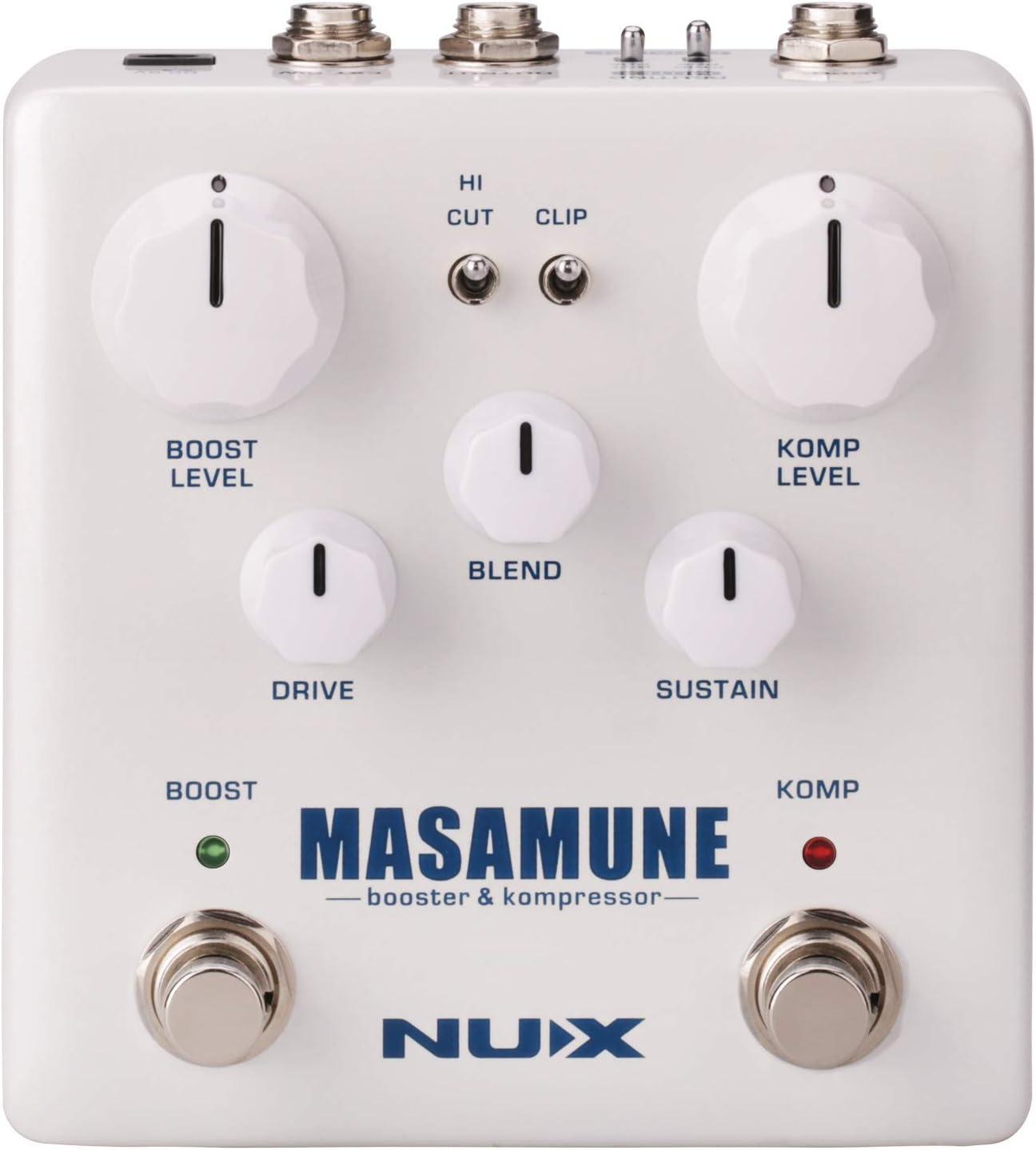 NUX | Masamune Booster & Kompressor Pedal