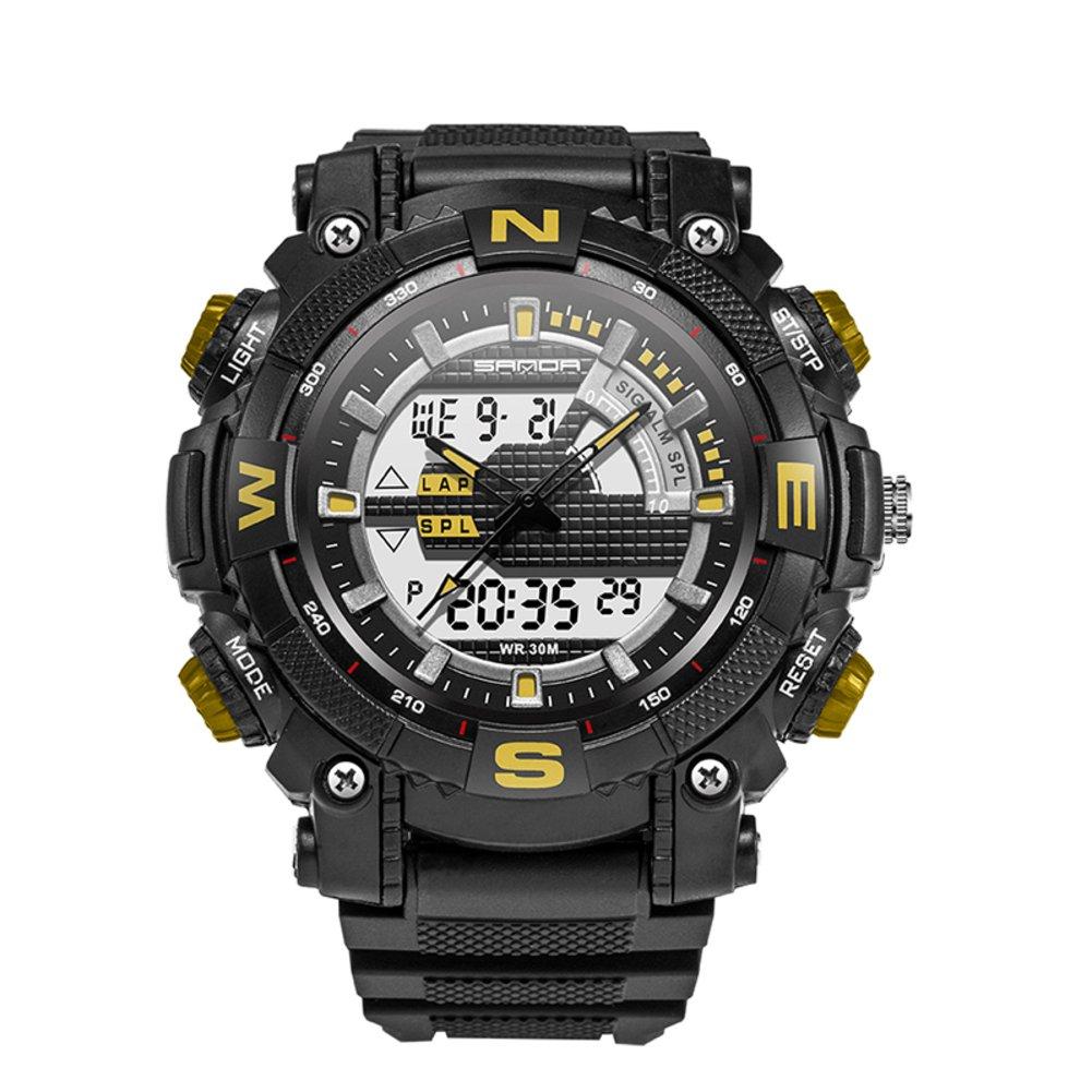 ユース防水光Watches /スポーツメンズwatch-d B06XJQC7DZ
