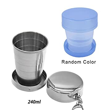 Trip Tool Telescopic Water Tea Coffee Outdoor Cup Travel Silicone Collapsible