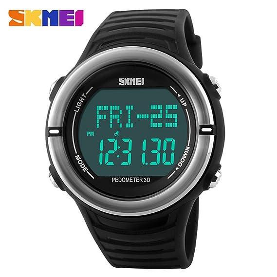 HWCOO Mujer Hombre Reloj Deportivo Reloj Militar Reloj de Vestir Reloj Smart Reloj de Moda Reloj