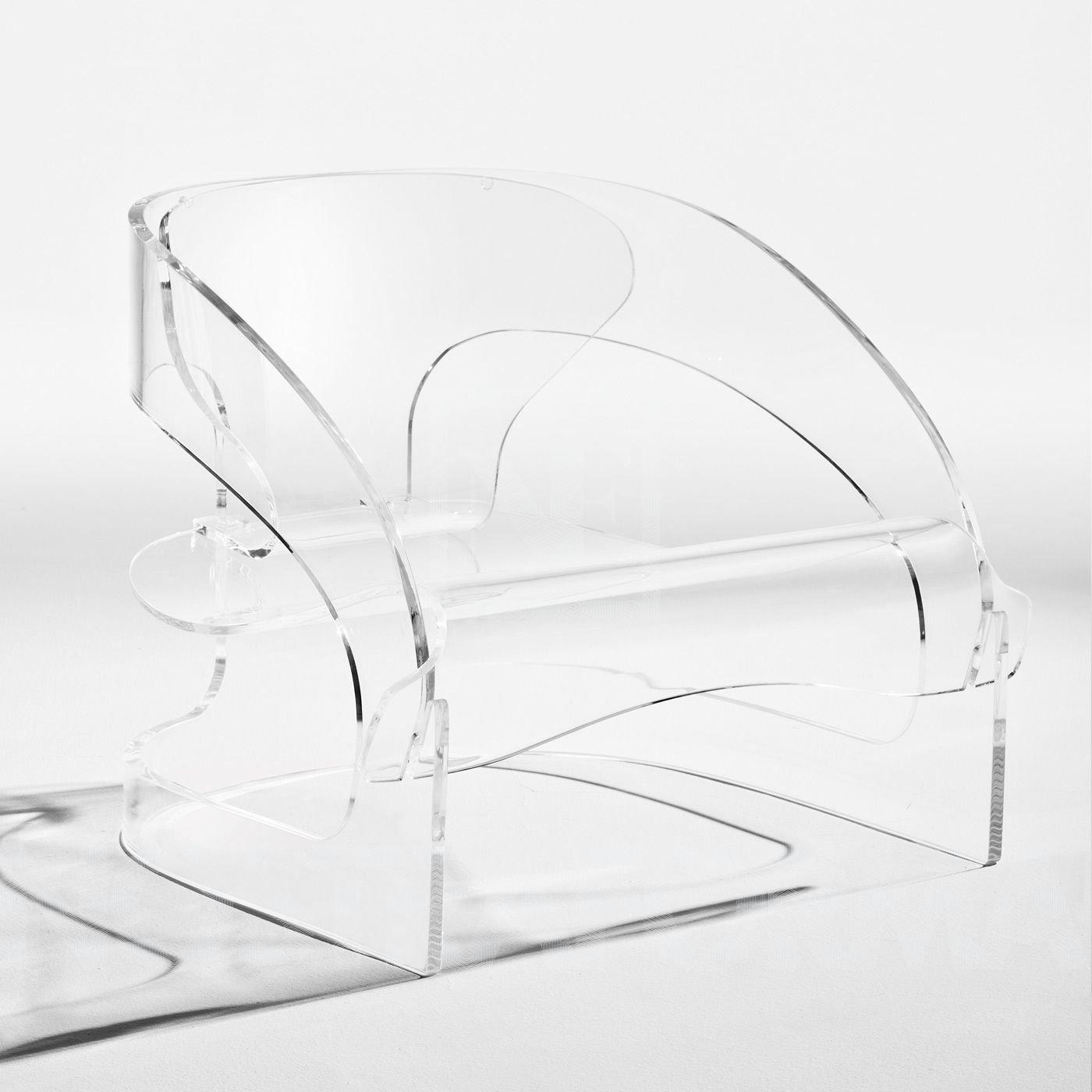 Kartell 4801 Sessel, weiß