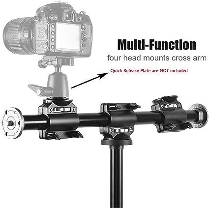 Fotoconic Horizontaler Stativarm 3 8 Zoll Schraube Stativ Verlängerungsstange Für Kamera Professionelles Fotografie Studio