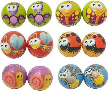 12 pelotas de insecta de espuma para aliviar el estrés y apretar ...