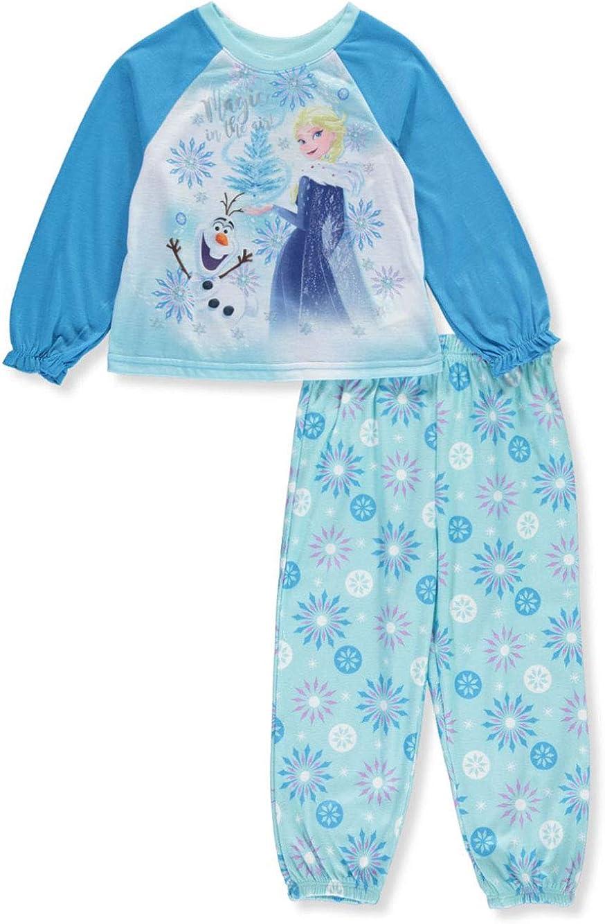 Disney Frozen Elsa Toddler Girl/'s 2-PC Sleepwear Pajama Set Flanne Size 3T NEW!