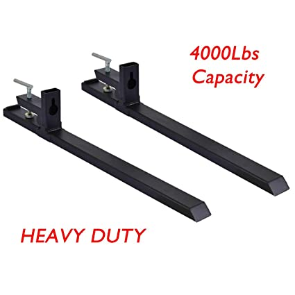 Amazon com: Ramco Clamp on Pallet Forks HD Loader Bucket