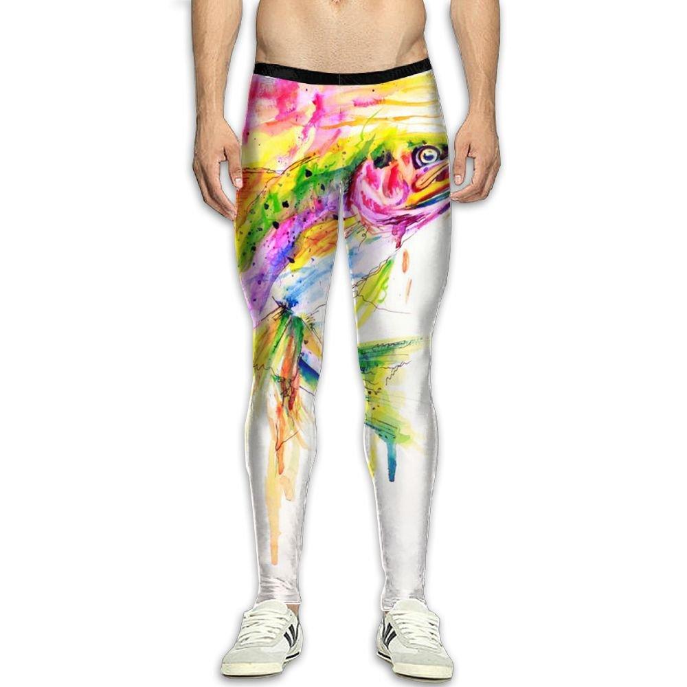 Virgo Fishing Lure Print Compression Pants//Running Tights Leggings Female High Rise